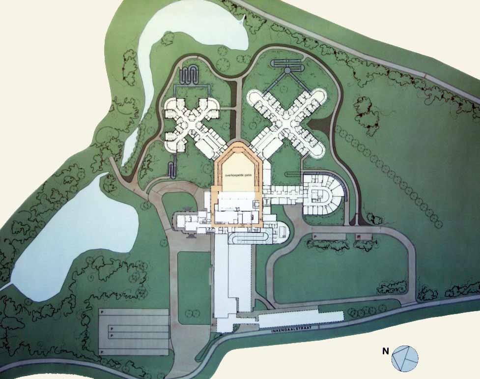 ullevål sykehus kart bygg 8